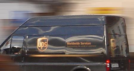 Práca ako kuriér v UPS